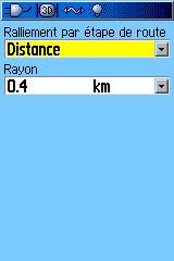 Route Leg Transition = Distance